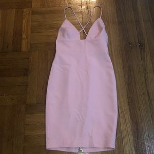 Baby pink dress from house of CB